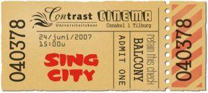 SingCity toegangskaartje