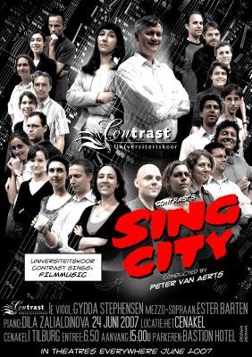 SingCity concertposter