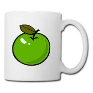 Mok met appel